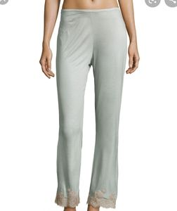 Josie Natorie Charlize lace cut off pajama pant